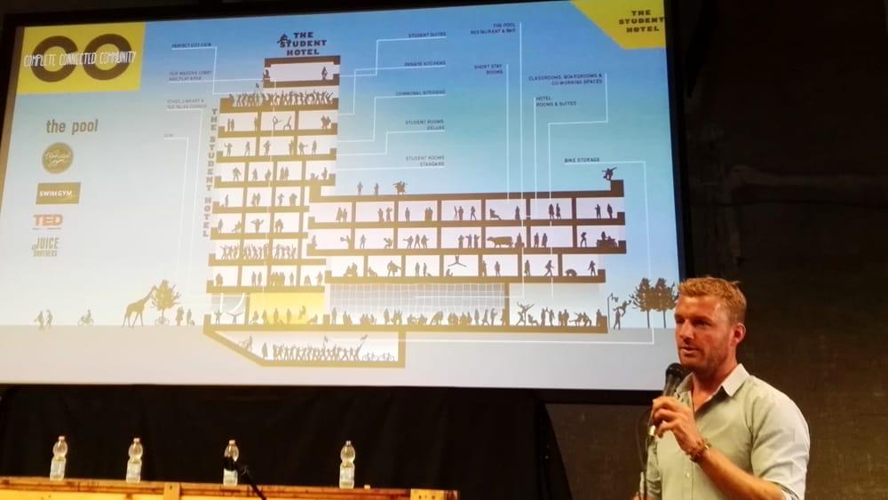 """The Student Hotel a San Lorenzo, il progetto all'Ex Dogana: """"Un nuovo cuore per la città"""" Sulla mappa di Roma campeggia un """"nuovo cuore"""" che 'copre' con il suo raggio d'azione il quartiere di San Lorenzo."""