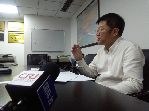 Li Bin, vice direttore alla logistica della municipalità di Chongqing